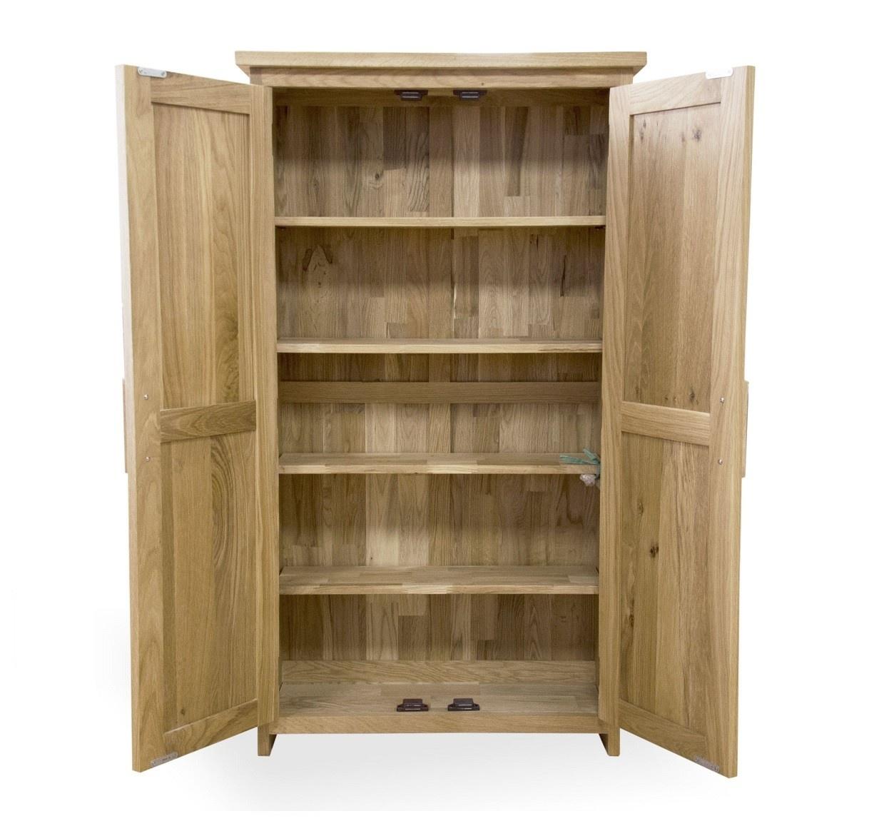 Opus Oak CD/DVD Storage Cupboard