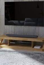 HomestyleGB Z Designer Solid Oak Large TV Plasma Unit