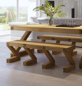 Z  Designer Solid Oak Large Bench