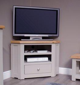 Diamond Painted Corner TV Cabinet