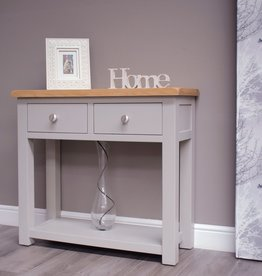 Diamond Painted Console Table