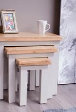 HomestyleGB Diamond Painted Nest of Tables