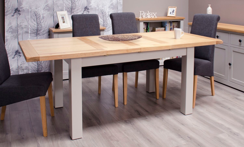 Diamond Painted Medium Extending Table