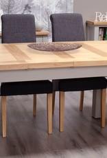 HomestyleGB Diamond Painted Medium Extending Table
