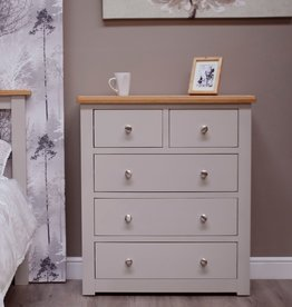 Diamond Painted 3+2 Drawer Chest