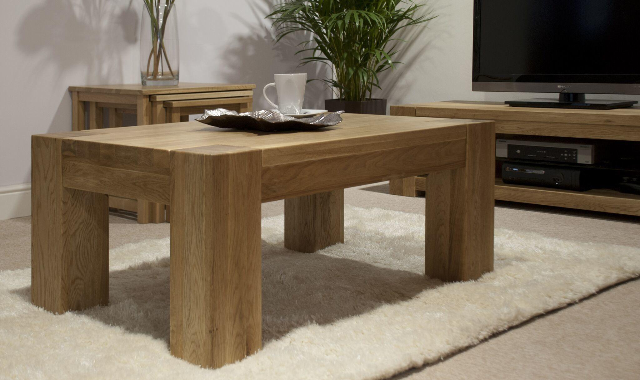 Trend Oak 4 x 2 Coffee Table