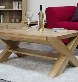Trend Oak X - Leg 3 x 2 Coffee Table