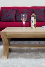 HomestyleGB Trend Oak X - Leg 3 x 2 Coffee Table