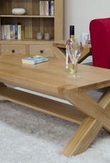 HomestyleGB Trend Oak X - Leg 4 x 2 Coffee Table