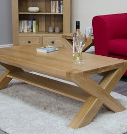 Trend Oak X - Leg 4 x 2 Coffee Table