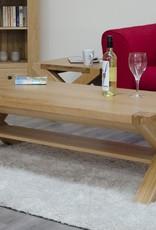 Trend Oak X - Leg 4 x 2 Coffee Table