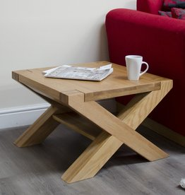Trend Oak X - Leg 2 x 2 Coffee Table