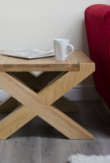 Trend Oak X - Leg 2 x 2 Coffee Table