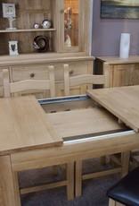 HomestyleGB Milano Oak Small Extending Table