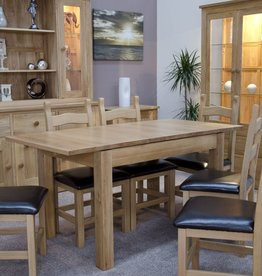 Milano Oak Extending Dining Table