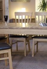 Milano Oak Extending Dining Table