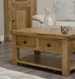 HomestyleGB Deluxe Oak 3 x 2 Coffee Table