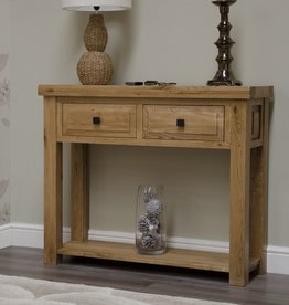 HomestyleGB Deluxe Oak Hall Table