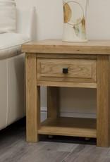 HomestyleGB Deluxe Oak Lamp Table