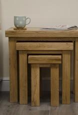 Deluxe Oak Nest of Tables