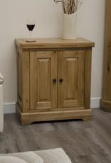 Deluxe Oak Printer Cabinet