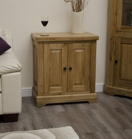 HomestyleGB Deluxe Oak Printer Cabinet