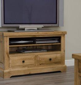 Deluxe Oak TV Unit