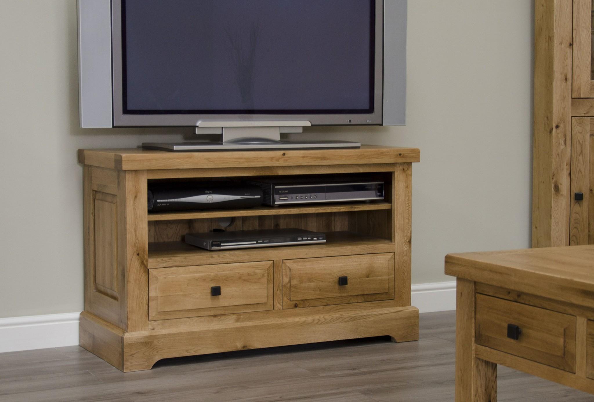 HomestyleGB Deluxe Oak TV Unit