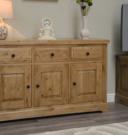HomestyleGB Deluxe Oak Large Sideboard