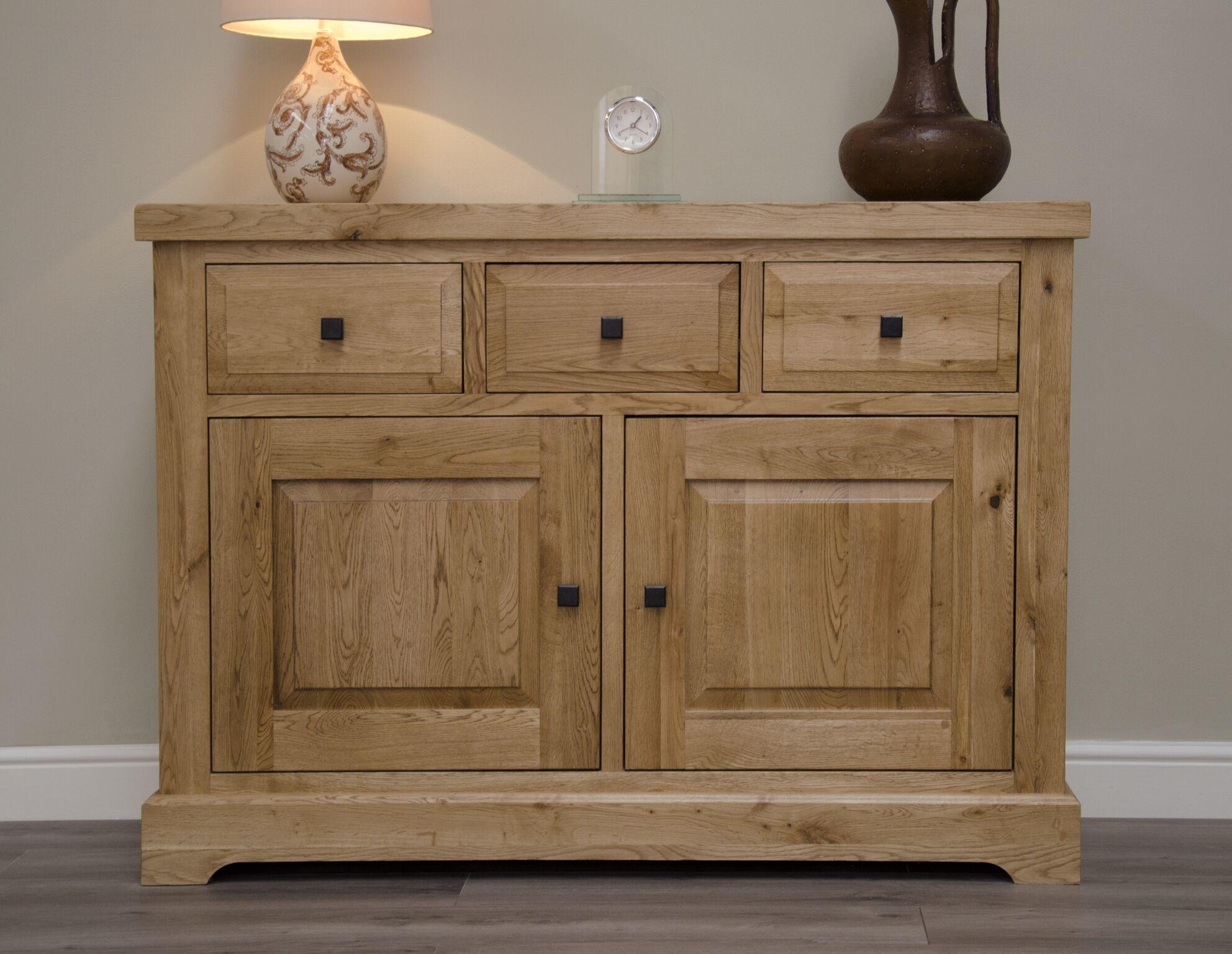HomestyleGB Deluxe Oak Medium Sideboard