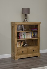 HomestyleGB Deluxe Oak Small Bookcase