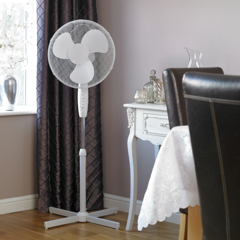 Limitless 16 Inch Pedestal Fan