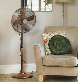 Limitless 16 Inch Copper Pedestal Fan