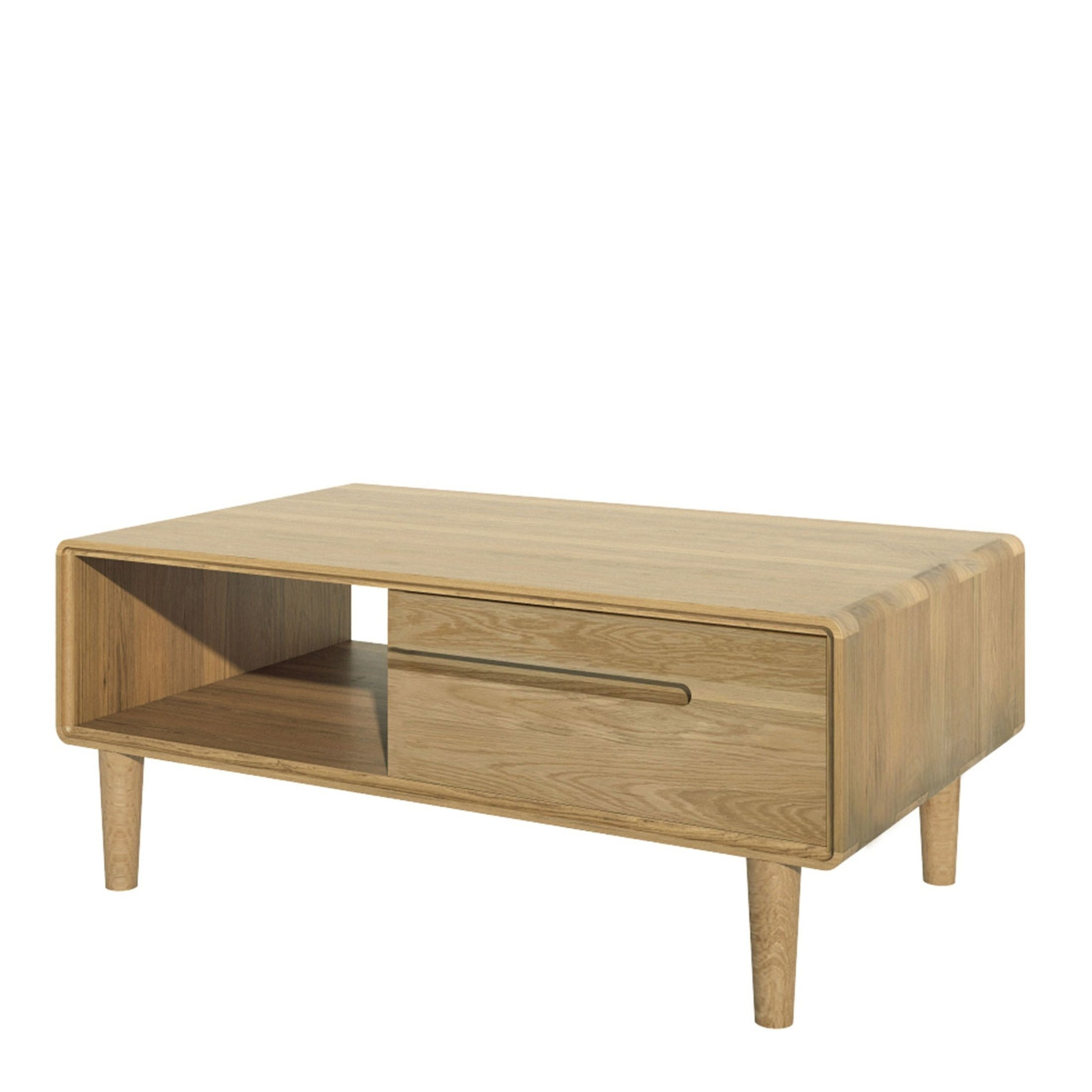 HomestyleGB Scandic Oak 3 x 2 Coffee Table