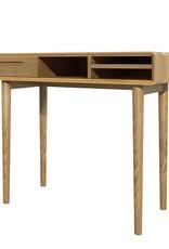Scandic Oak Computer Desk