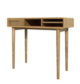 HomestyleGB Scandic Oak Computer Desk
