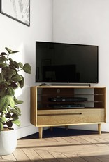 HomestyleGB Scandic Oak Corner TV Unit