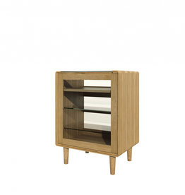 HomestyleGB Scandic Oak HiFi Unit