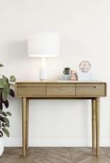 HomestyleGB Scandic Oak Hall Table