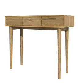 HomestyleGB Scandic Oak Hall Table