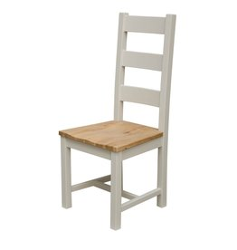 HomestyleGB Painted Deluxe Ladder Back Dining Chair