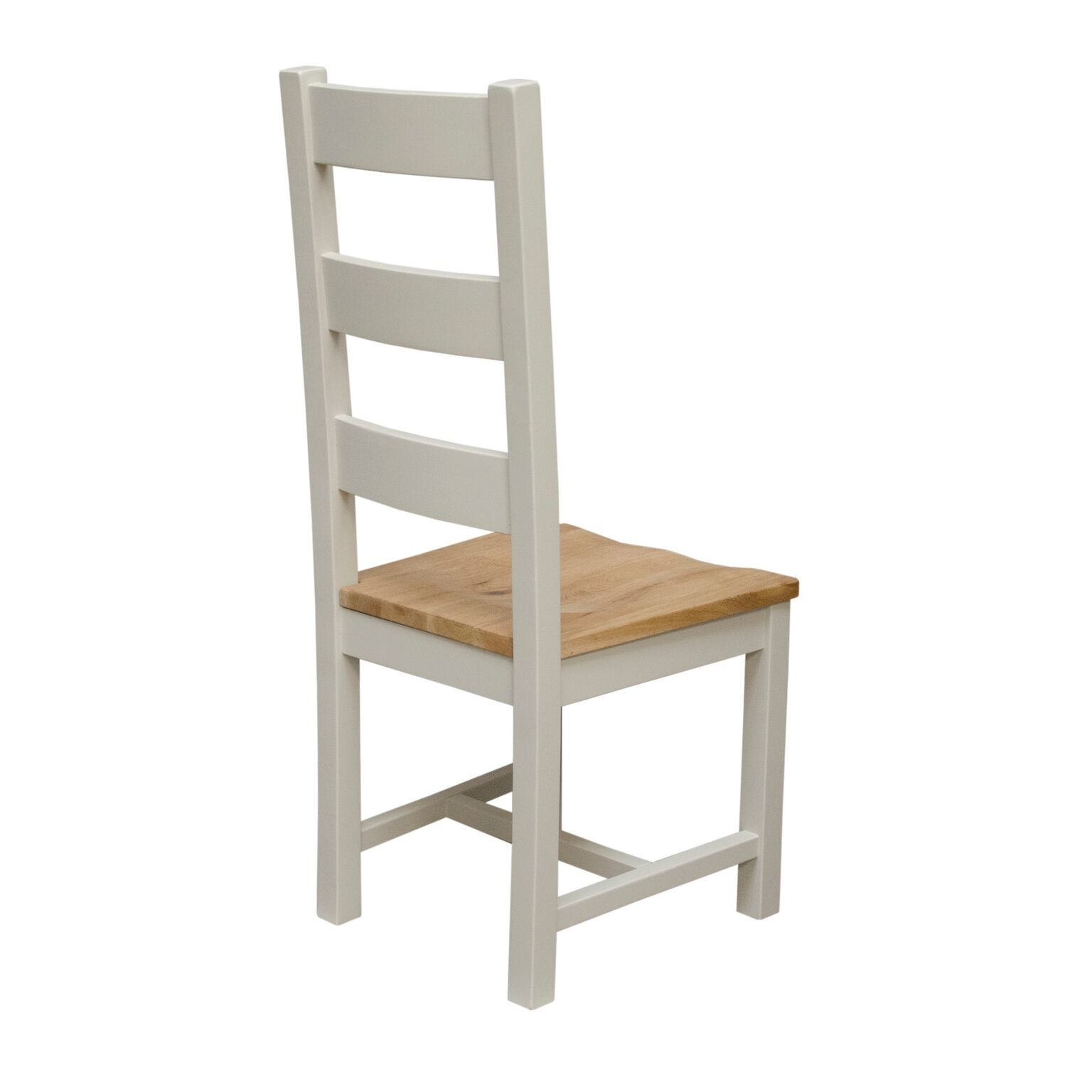 Painted Deluxe Ladder Back Dining Chair - Pair