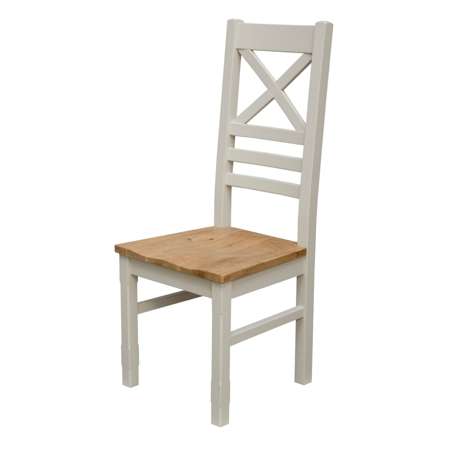 Painted Deluxe Newcross Back Dining Chair - Pair