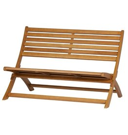 WOOOD Lois Wooden Lounge Bench  Wood Natural