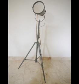 Industrial Tripod Searchlight Style Mirror