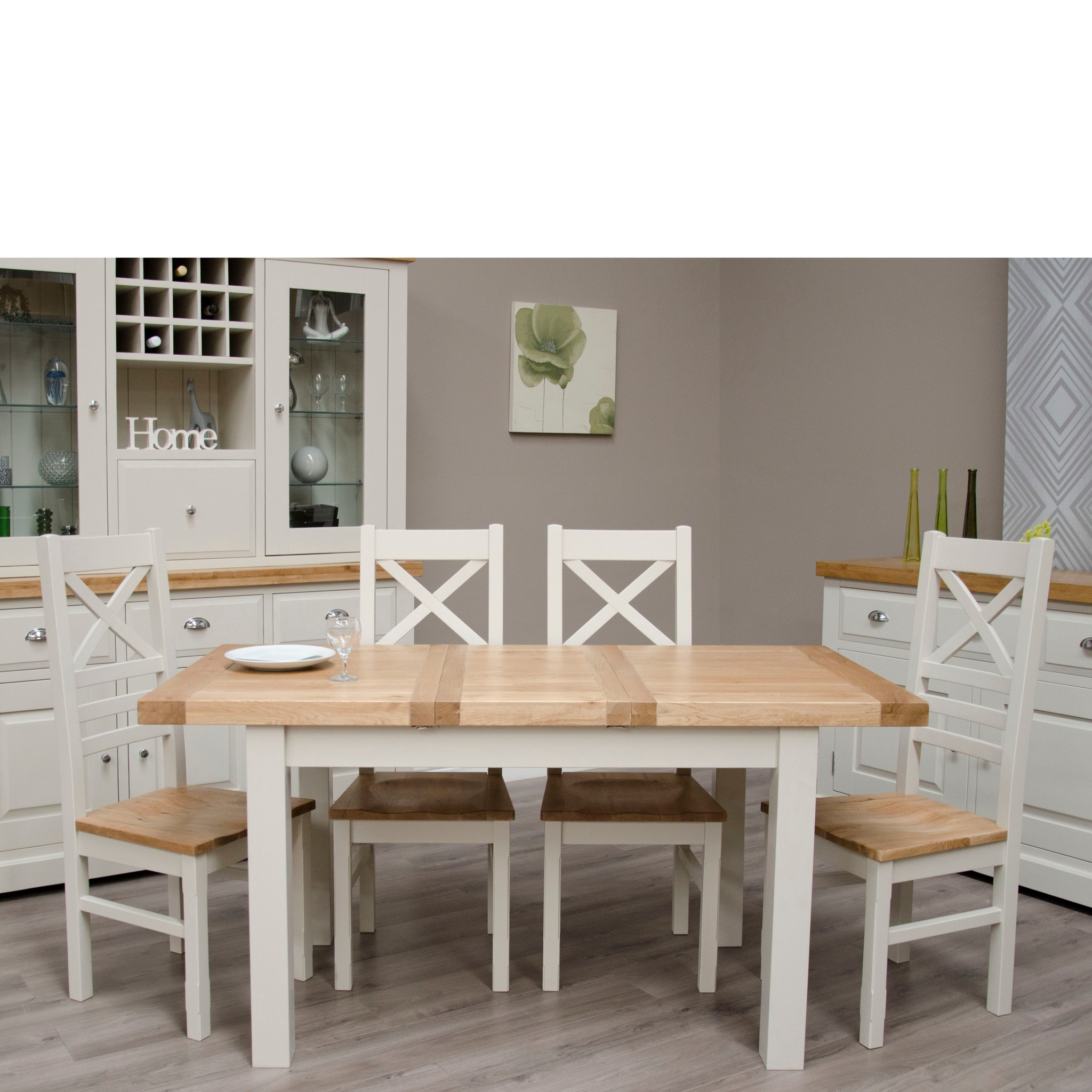 Painted Deluxe Small Extending Dining Table