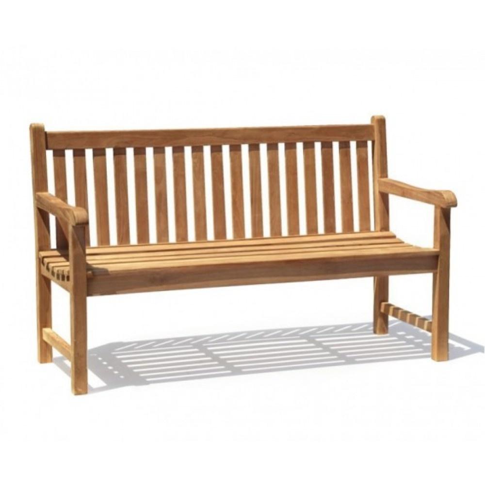 Teak 3 Seater Bench
