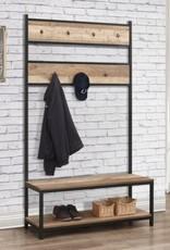 Urban Coat Rack With Bench
