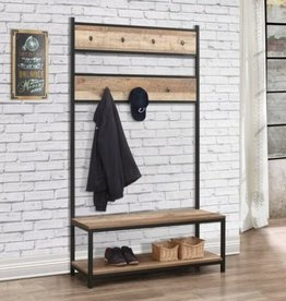 Urban Coat Rack and Bench