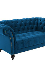 Chester 2 Seater Sofa - Blue